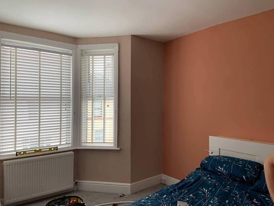 decorated room